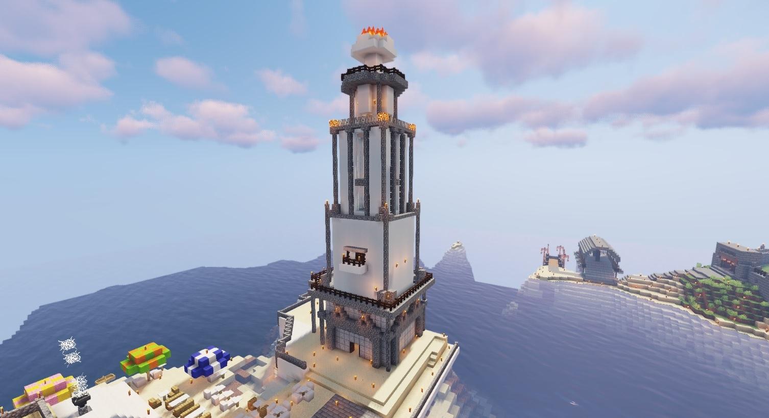 マイクラ灯台